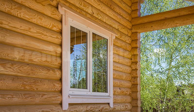 Внутренние деревянные наличники на окна фото