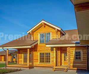 Дом из бревна Биосфера