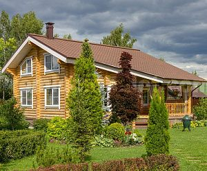 Дом из бревна ММ-5