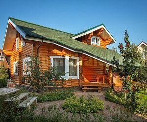 Дом из бревна Борисково
