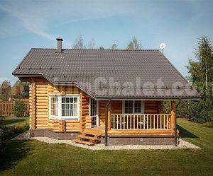 Дом из бревна ММ-4